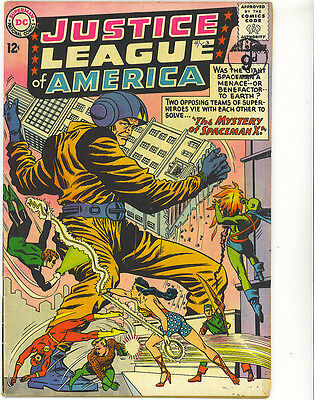 JUSTICE LEAGUE OF AMERICA  20 VG+ 1963 CENTS Silver Age DC Comics US Comics