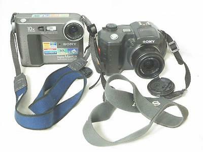 Kodak MVC-FD73 and MVC-CD500  Digital Cameras  For Parts or repair