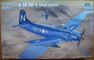 TRUMPETER® 02252 US Navy A-1D AD-4 Skyraider in 1:32