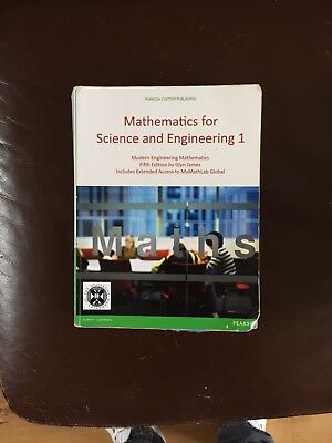 Mathematics For Science And Engineering 1
