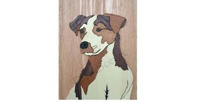 Marquetry Kit Set Craft Jack Russell Terrier Dog Wood K812