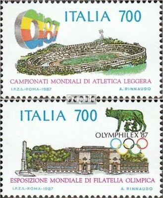 Italy 2019-2020 (complete issue) unmounted mint / never hinged 1987 Athletics-WM