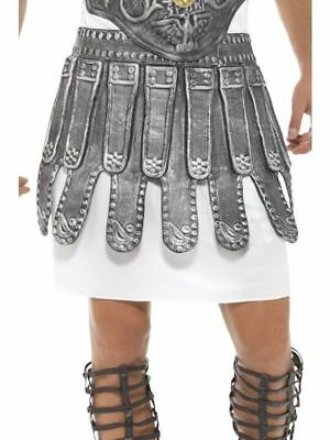Grey EVA Skirt Mens Roman Gladiator Roman Toga Party Fancy Dress Accessory