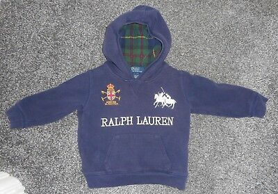 Baby Boy's Hoodie by Ralph Lauren size 18 months - used in good condition