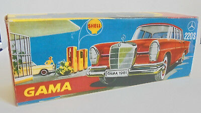 Repro Box Gama 407 Mercedes 220 S oder BMW 1800