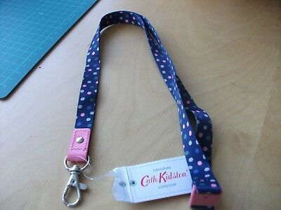 New with tags  Cath kidston Lanyard  Scattered spot