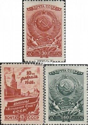 Soviet-Union 1008-1010 unmounted mint / never hinged 1946 Elections