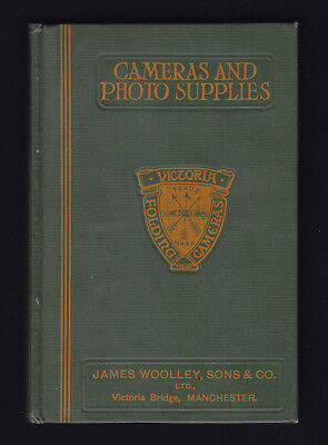 CAMERA & PHOTO SUPPLIES c1914 JAMES WOOLLEY SONS & CO CATALOGUE RARE