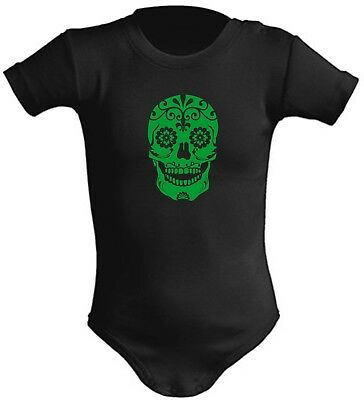 Body Bebe Calavera Mexicana