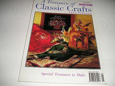 A Treasury Of Classic Crafts Gloria McKinnon No 5 - cardback
