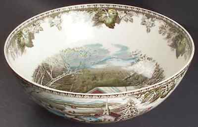 Johnson Brothers THE FRIENDLY VILLAGE Salad Serving Bowl 1865586