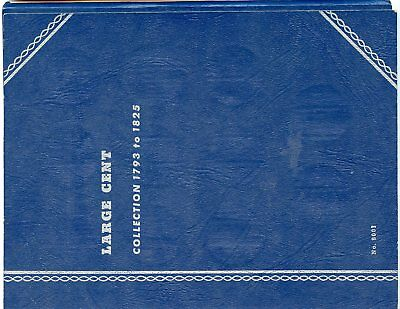 (2) 1793-1857 WHITMAN TRI FOLD LARGE CENT ALBUMS ~MINT CONDITION ~   *hucky*