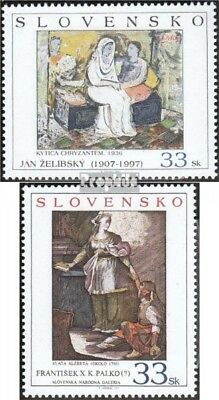 Slovakia 568-569 (complete.issue.) unmounted mint / never hinged 2007 Paintings