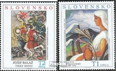 Slovakia 593-594 (complete.issue.) unmounted mint / never hinged 2008 Art