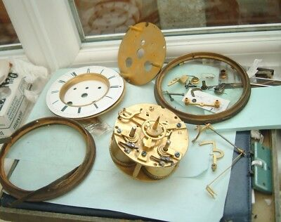 Clock maker French clock movement by Vincent Dargent in bits For spare parts