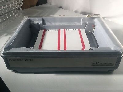 Horizon horizontal gel electrophoresis submarine 20-25 Life Gibco  brl Our#1