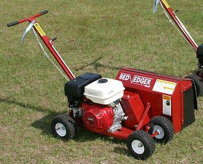 BROWN F-991H9.0 BedEdger w/ Honda GX 9 HP Engine (steerable landscape bed edger)