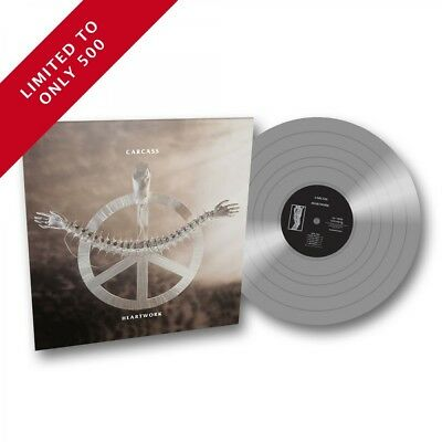 Carcass 'Heartwork' Full Dynamic Range SILVER Vinyl - NEW EXCLUSIVE