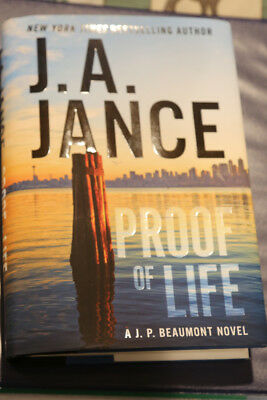 Proof of Life by J. A. Jance (2017, Hardcover)