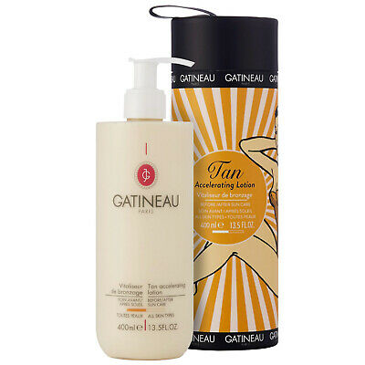 Gatineau Body Basics Limited Edition Tan Accelerating Lotion in Tube 400ml for w
