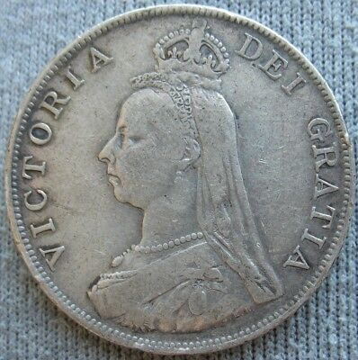 1890 Great Britain Double Florin