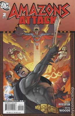 Amazons Attack (2007) #2 FN