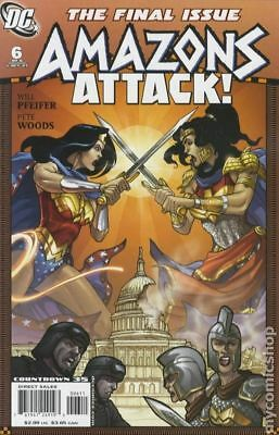 Amazons Attack (2007) #6 VF