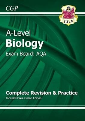 New A-Level Biology: AQA Year 1 & 2 Complete Revision & Practic... 9781782942979