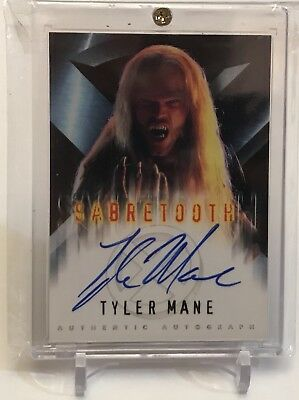 Tyler Mane As Sabretooth X-Men The Movie Authentic Marvel Autograph Card