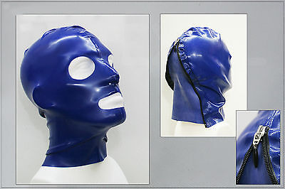 "★★★★ LATEXTIL ★★★★ Latexmaske ""NewOpenBlue"" Mask Latex Maske Rubber -NEU-"