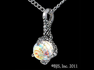 The Arkenstone Necklace, Silver Smaug Pendant, Hobbit Jewelry, Tolkien, Dragons