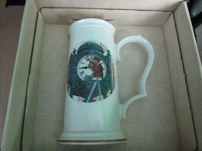 Norman Rockwell Marshall Field's Clock Limited Edition Stein 555/100