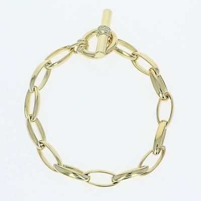 Slane & Slane Diamante Intercambiables Brazalete 18.4cm 18 Ct