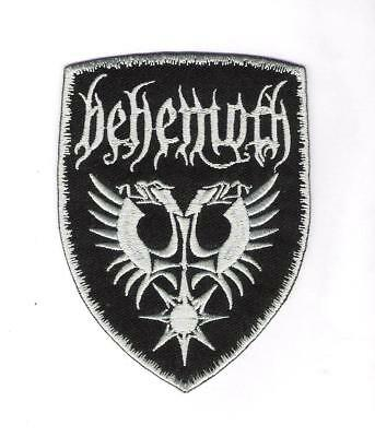 patch embroidered / écusson thermocollant Behemoth