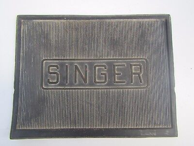 Vintage SINGER Sewing Machine Rubber Mat