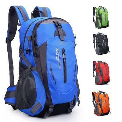40L Waterproof Outdoor Climbing Travel Large Backpack Camping Rucksack Bag NEW