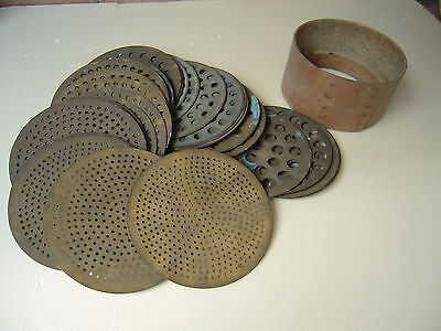 19c Antique French Diamond Sieve Set For Beads Gem Stone Sorting  Jewelry Tools
