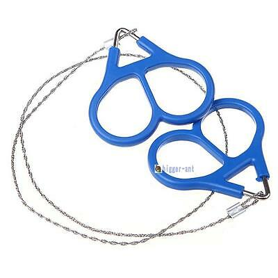 Outdoor Gear Convenient Steel Wire Saw Emergency Camping Hiking Survival Tool SA