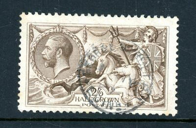 Great Britain 1918  2s 6d Seahorse  (SG 414)   very  fine-used     (S1199)