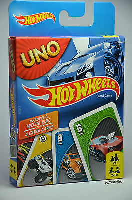 Uno Hot Wheels - Card Game
