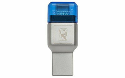KINGSTON MobileLite DUO USB3.1+TypeC microSDHC  Flash Memory Reader