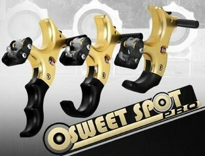 New TRU Ball Sweet Spot Pro Back Tension Brass Release Aid All Handles 2SPA-BS