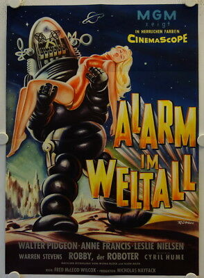 Forbidden Planet original release german movie poster