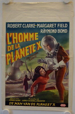 The Man from Planet X original release belgian movie poster