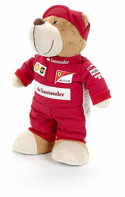 TEDDY Bear Kids Formula One 1 Ferrari F1 Team NEW Children TeddyBear 26cms. Gift