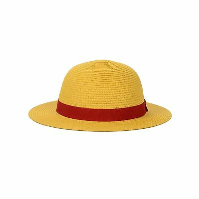 One Piece Luffy's Straw Hat Performance Animation Cosplay Hat Yellow