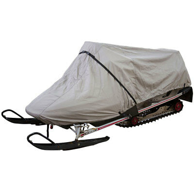 """Large UV & Weatherproof 115"""" to 125"""" Snowmobile Sled Storage Cover"""
