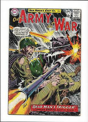 """Our Army At War #141 [1964 Vg+] """"dead Man's Trigger!""""  1St Shaker!"""