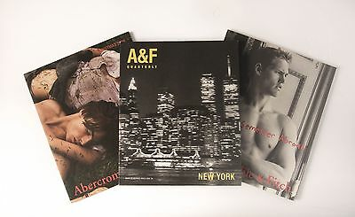 Abercrombie and Fitch Catalogs - Including 2000 Back to School Quarterly