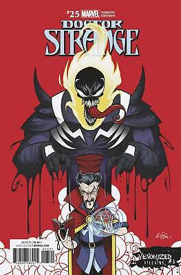 Doctor Strange #25 Venomized Variant Hopeless Nowlan Marvel Comic Book NM 1g bc